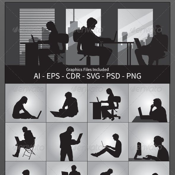 Using Computer Silhouettes