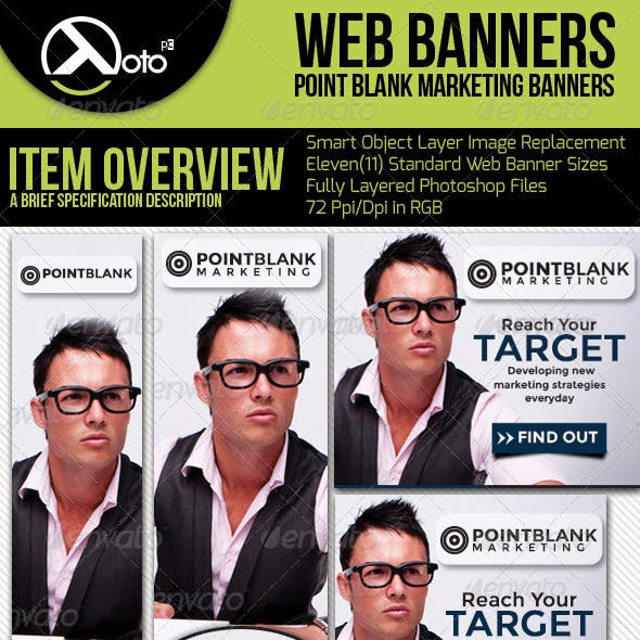 Point Target Marketing Web Banners