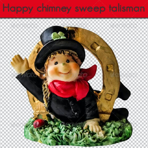 Happy chimney sweep talisman