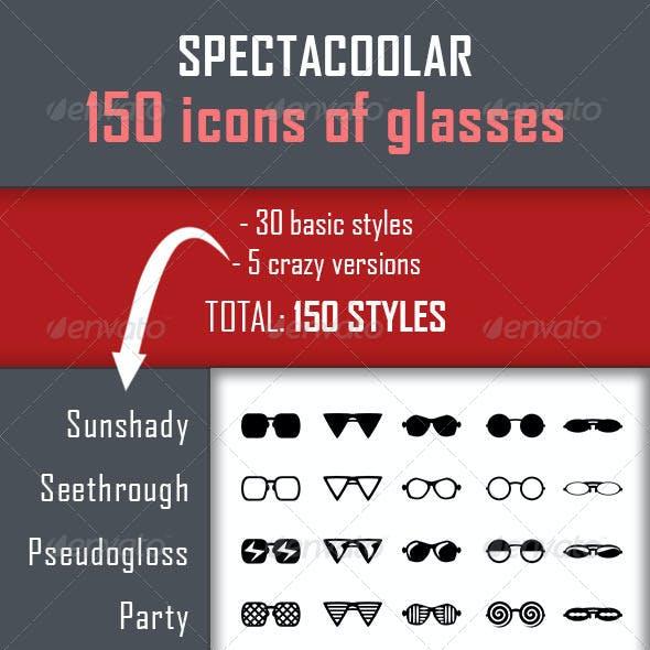 150 Spectacoolar Glasses Icons