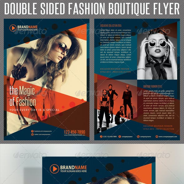 Fashion Product Flyer 03