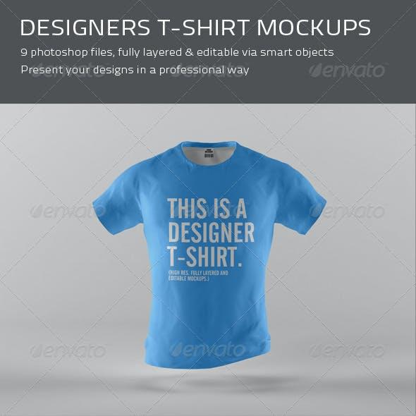 Designers T-Shirt Mockups