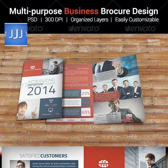 Multipurpose Business Bifold Brochure 8