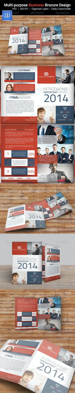 Multipurpose Business Bifold Brochure 8 - Corporate Brochures