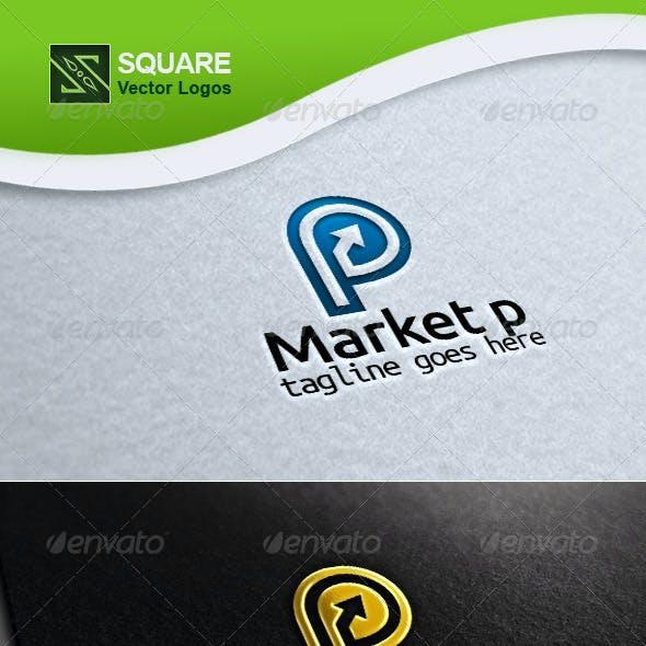 P, Market Vector Logo Template