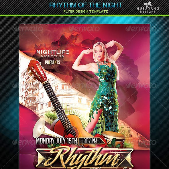 Rhythm Of The Night Flyer
