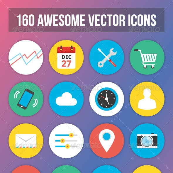 160 Vector Icons