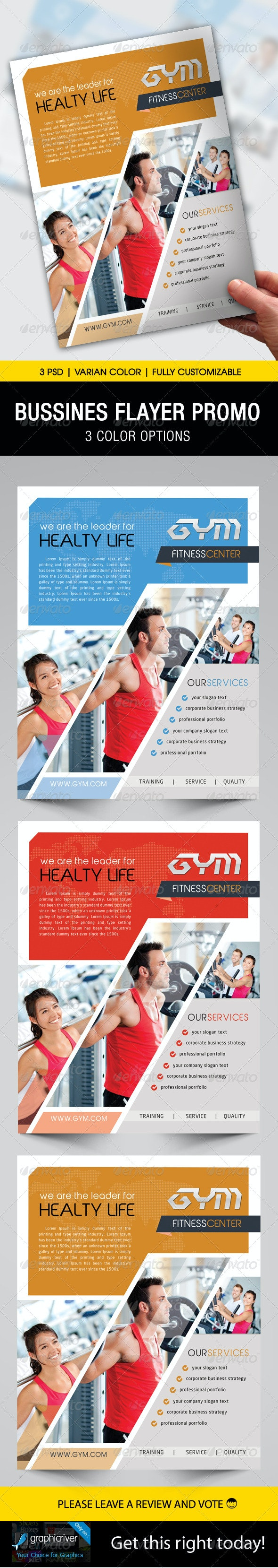 Business Flyer Template - Flyers Print Templates