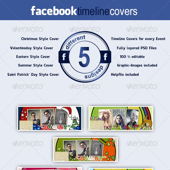 Facebook Event Timeline Covers