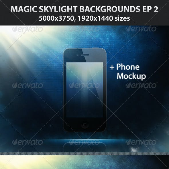 Magic Skylight Backgrounds EP 2