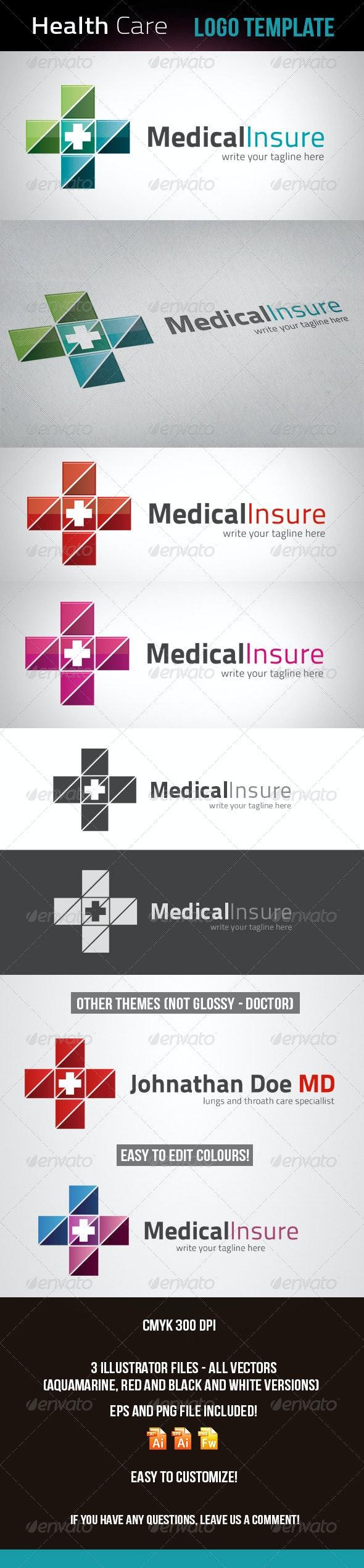 Doctor - Health Care Logo Template - Logo Templates