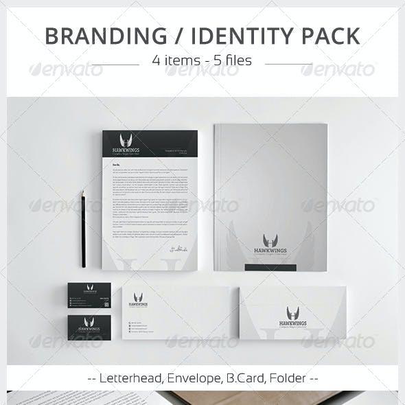 Hawkwings Corporate Identity Pack