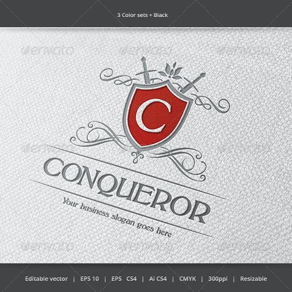 Conqueror Crest Logo