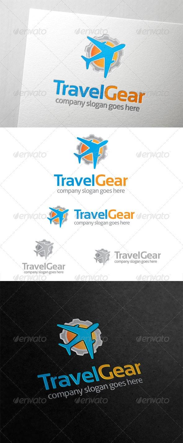 Travel Gear Logo - Symbols Logo Templates