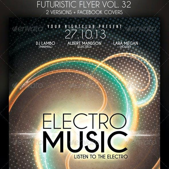 Futuristic Flyer Vol. 32