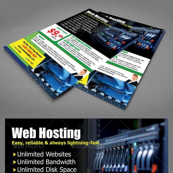 Web Hosting Flyers