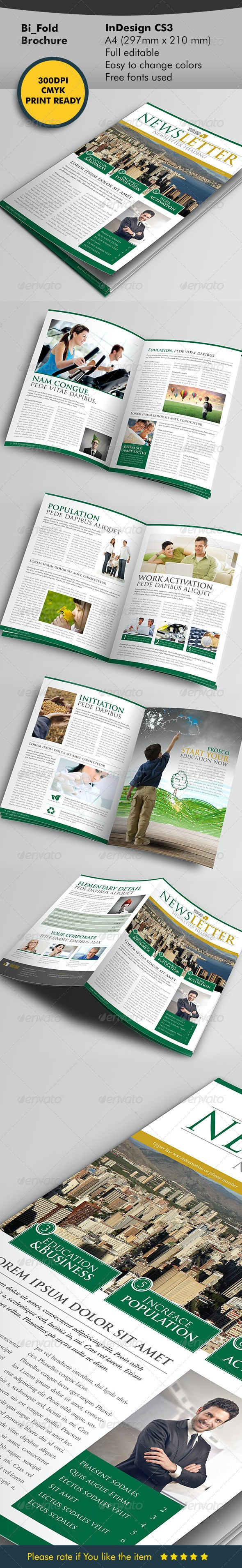 Newsletter Style - Newsletters Print Templates