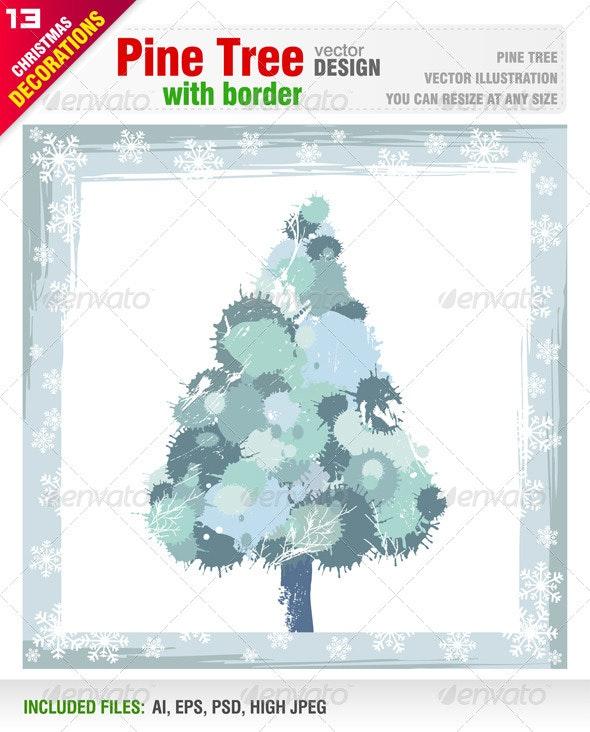Pine Tree - Christmas Seasons/Holidays