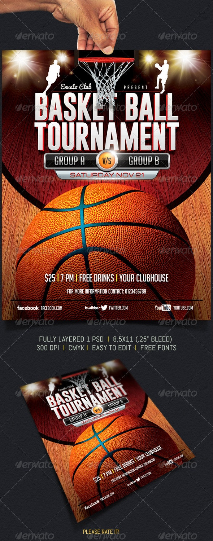 BasketBall Tournament - Sports Events
