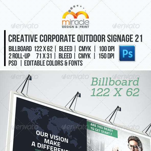 Creative Corporate Outdoor Signage 21