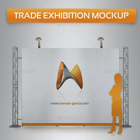 Trade Exhibition Mock-Up
