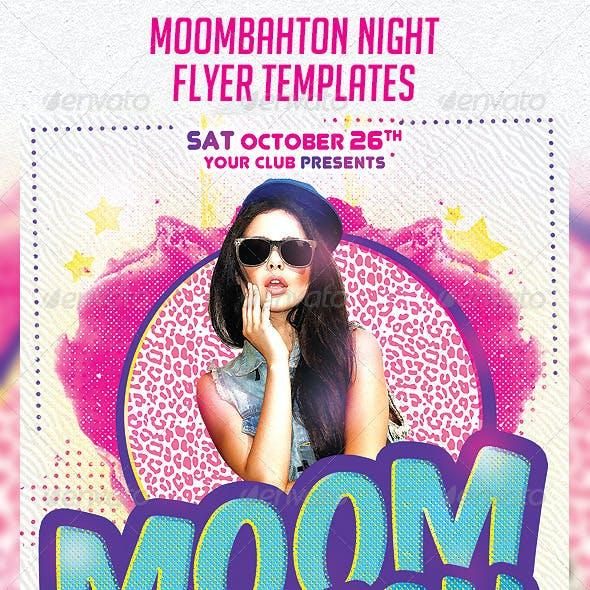Moombahton Night Flyer Template