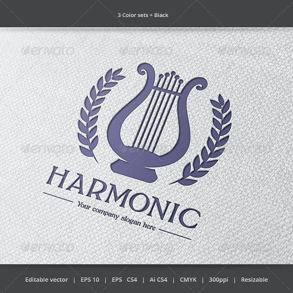 Harmonic Music Logo