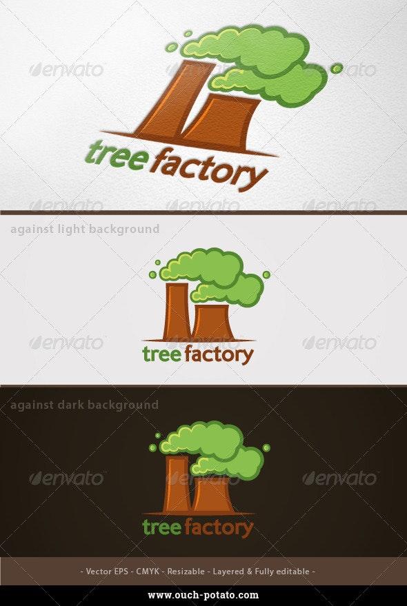 Tree Factory Logo   - Nature Logo Templates