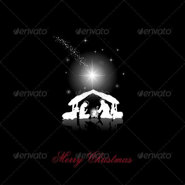 Silhouette White Christmas