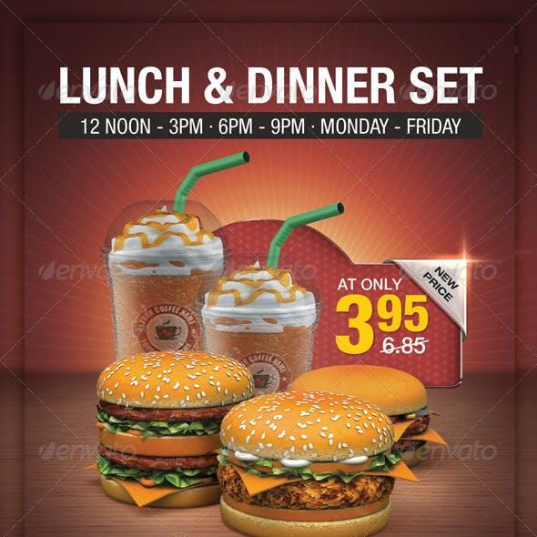Fast Food Flyer