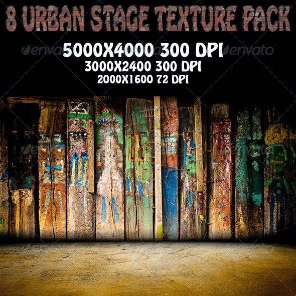 8 Urban Stage Texture pack