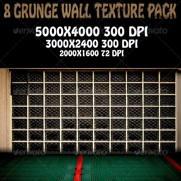8 Urban Stage - Grunge Walls