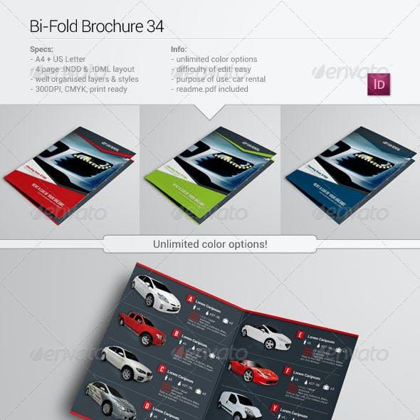 Bi-Fold Brochure 34