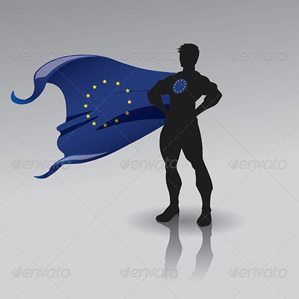 Super European Union Man