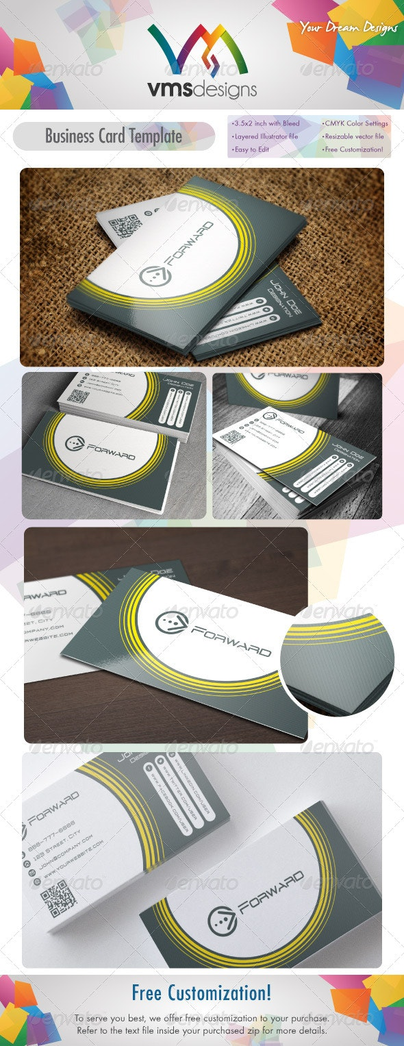 Business Card v4 - Corporate Business Cards