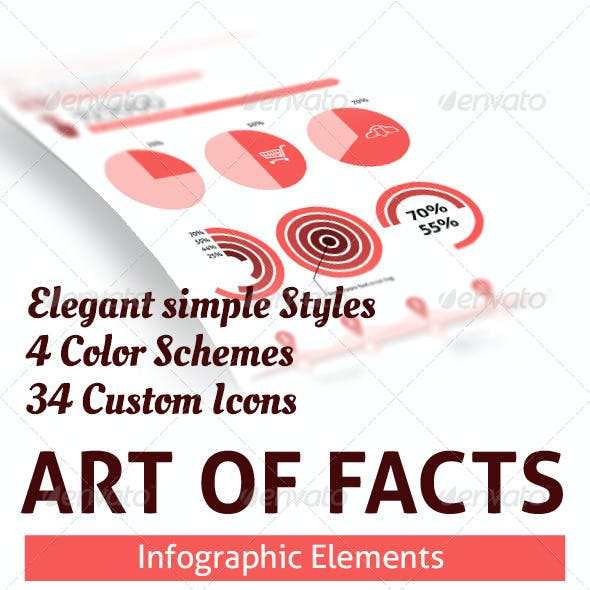 Arts of Facts - Clean Infographic Elements