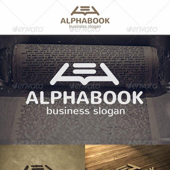 Alpha Book Logo
