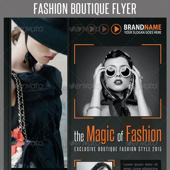 Fashion Product Flyer 06