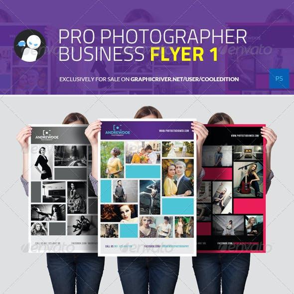 Pro Photographer Business Flyer