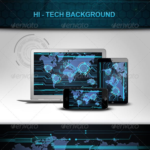 Hi - Tech Background v2