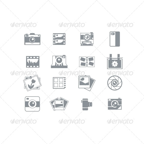 Photography Icons - Media Icons