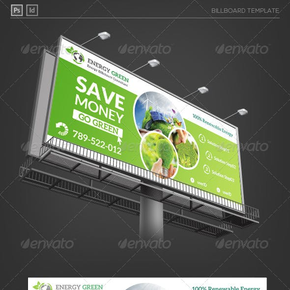 Renewable Energy Solution Billboard