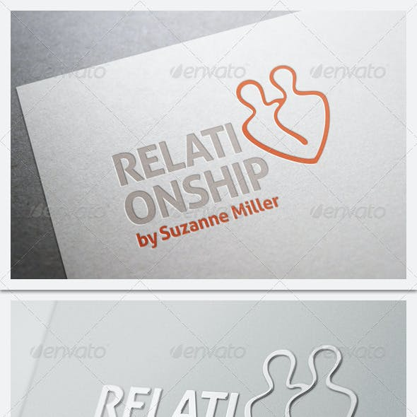 Relationship Counseling Logo Template