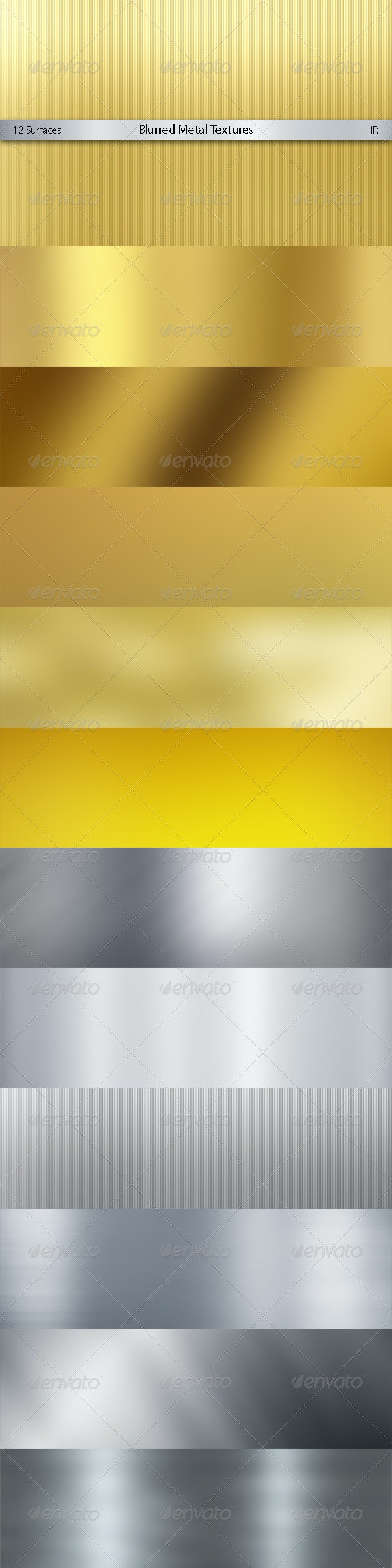 Blurred Metal Textures Background - Backgrounds Graphics