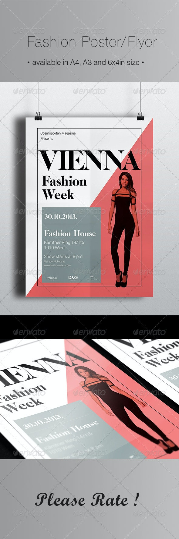 Fashion Poster / Flyer - Events Flyers