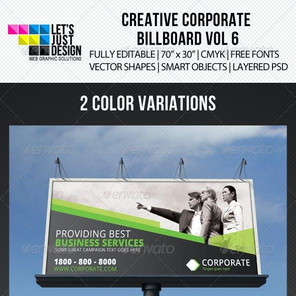 Corporate Billboard Banner Vol 6