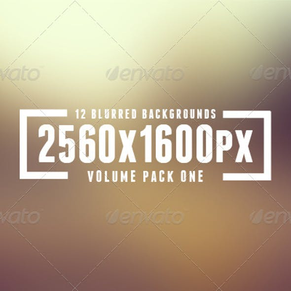Blurred Background Pack Vol. 1