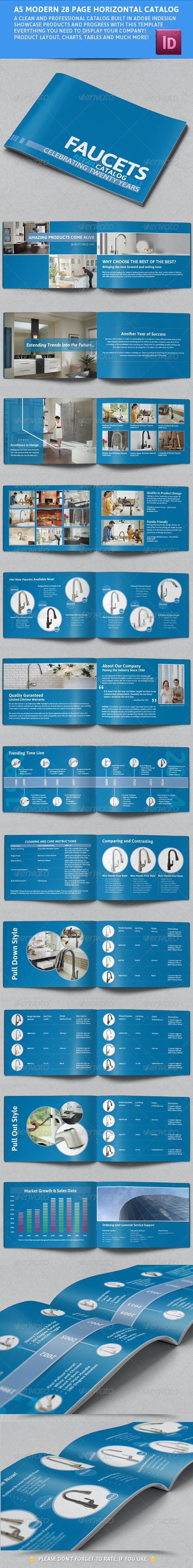 Modern A5 Catalogue - Booklet - Catalogs Brochures