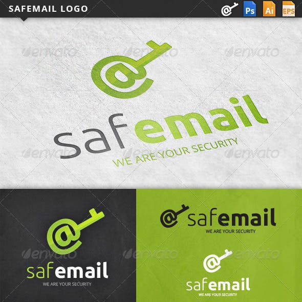 Safemail Email Logo Template