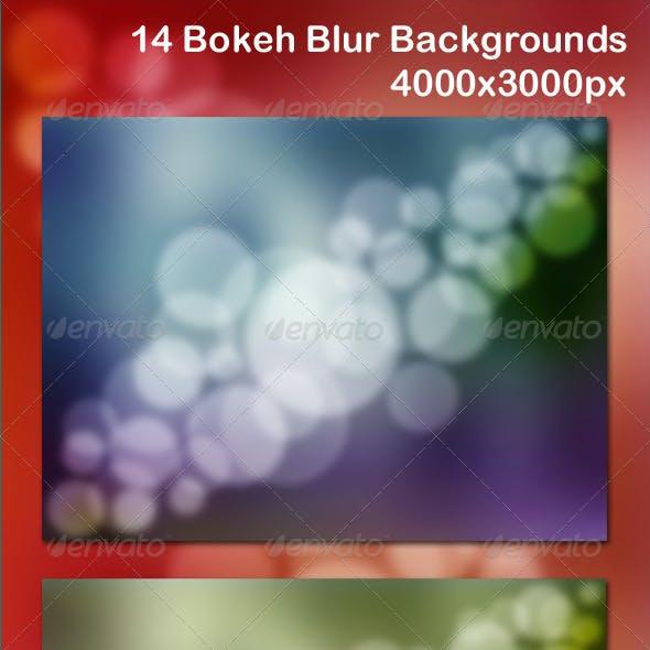 14 Bokeh Blur Backgrounds